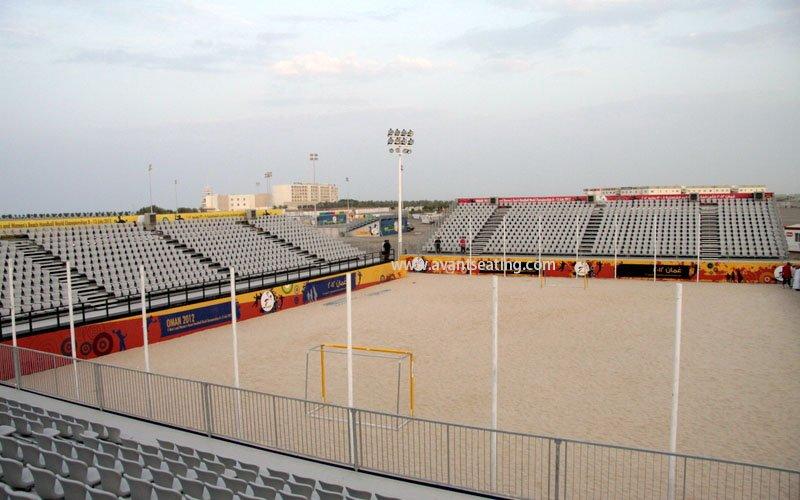 avant seating Beach handball world championship Muscat Oman 1 wm