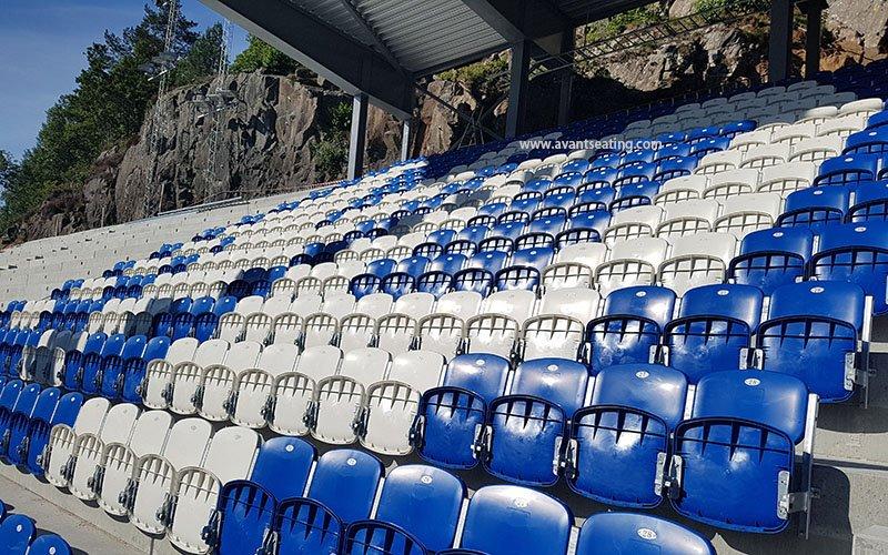 avant seating Bjønnes stadion Arendal Norway 2 wm