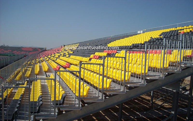 avant seating Korea Grand Prix Formula 1 Yeongam South Korea 1 wm