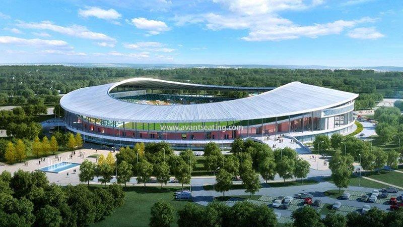avant seating Stade d'Oyem Gabon 2 wm