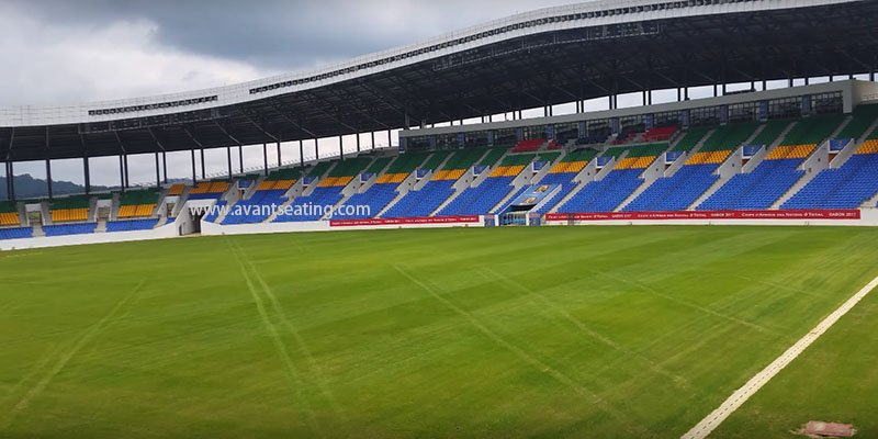 avant seating Stade d'Oyem Gabon featured image wm