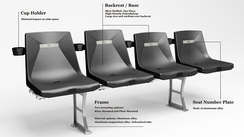 Avant Diamond One-Piece Seat