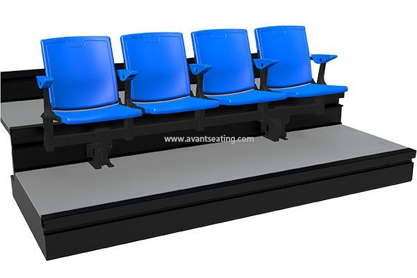 telescopic seating HS-CF with watermark