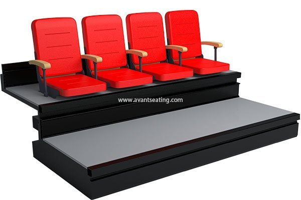 telescopic seating HS-SF Q-With Armrest with watermark