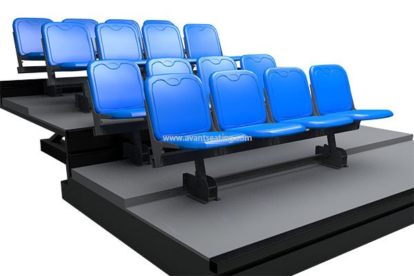 telescopic seating KK CF Double Row with watermark