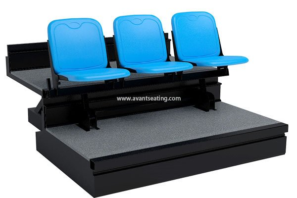 telescopic seating KK-CF H without Pads with watermark