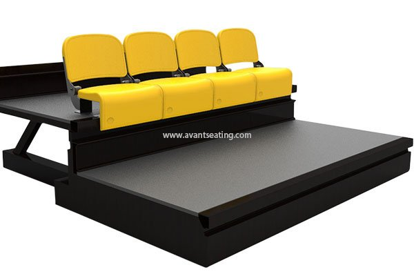 telescopic seating VG-CF with watermark