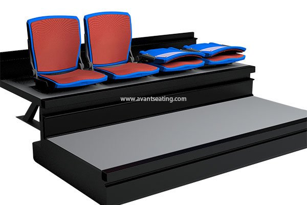 telescopic seating YH-CF Q with pads with watermark